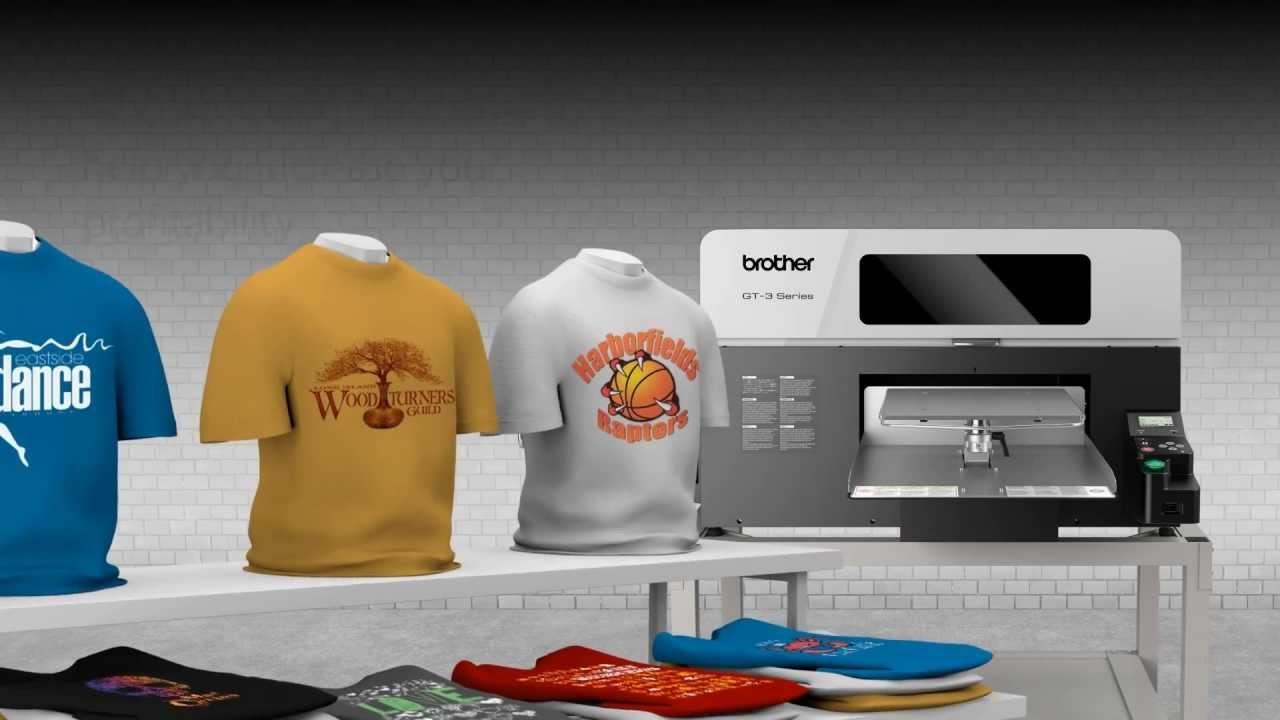 What is DTG Printing. This is a DTG Printing Machine. We use it to print custom t-shirts