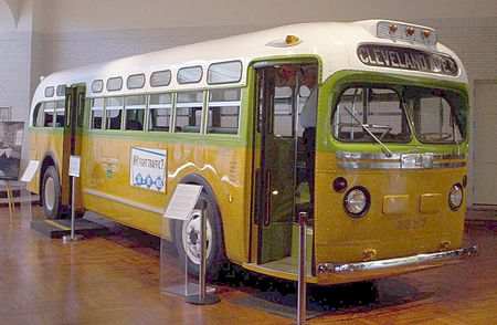The bus that rosa Parks refused to move to a different seat