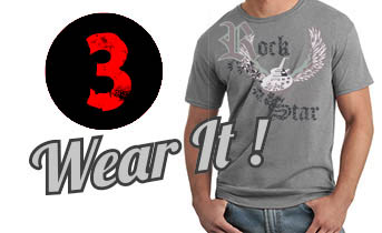 Wear your Custom T-shirt