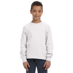 Youth Custom Cotton Long sleeve T-Shirt UNISEX