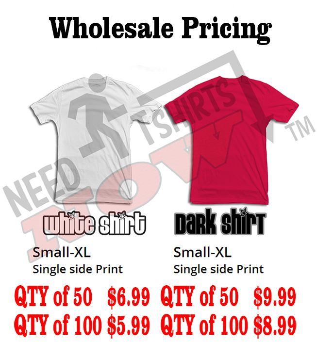 Wholesale Dtg pricing