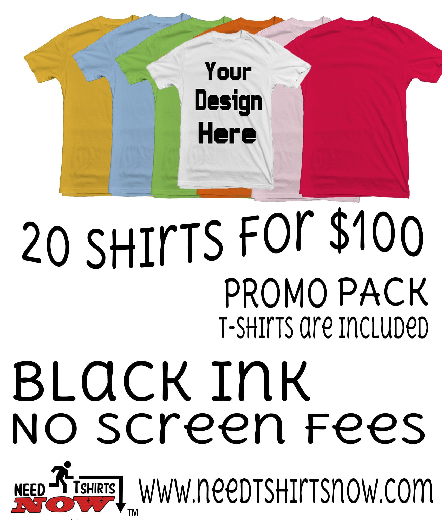 Cheap T-shirt Printing | Fayetteville NC | Create custom T-shirts ...